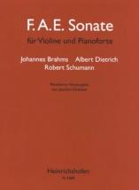 Brahms J. / Dietrich A. / Schumann R. - F.a.e. Sonate - Violon and Piano
