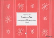 Caldara A. - Sonata Da Chiesa A-moll - Flb Soprano Et Bc