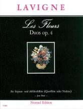 Lavigne - Les Fleurs Duos Op 4 - Flutes Soprano and Alto