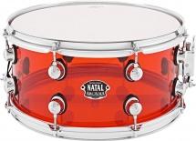 Natal S-ac-s465-rd1 Arcadia Acrylic - Transparent Rouge - 14 X 6,5