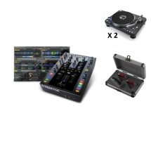 Native Instruments Traktor Kontrol Z2 + 2x Onetwo + Coffret Ortofon Cc-tw-digitrack