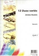 Naulais J. - Douze Duos Variés