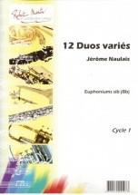 Naulais J. - Douze Duos Variés (version Bb)