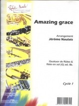 Traditionel - Naulais J. - Amazing Grace 4 Flutes