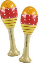 New Classic Toys Paire De Maracas Rouge