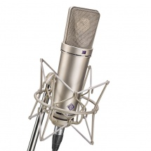 Neumann U87 Ai Studio Set Avec Suspension Silver