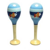 New Classic Toys Paire De Maracas Poisson