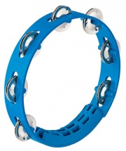 Nino Tambourin - 8 - 1 Rangee De Cymbalettes - Bleu