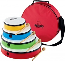 Nino Set De Tambourins - 4 Pcs. - Sac Inclu