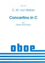 Weber C.m. (von) - Concertino In C - Hautbois Et Piano