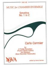 Cormier C. - Sonatina Nr 1 In C