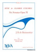 Boismortier J.b. - Six Sonatas Opus 51