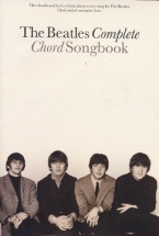 Rooksby Rikky - Beatles Complete Chord Songbook - Lyrics And Chords