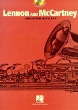 Lennon And Mccartney Solos - For + Cd - Alto Saxophone
