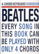 Beatles - 4 Chord Keyboard Songbook - Clavier
