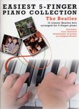 Easiest 5-finger Piano Collection Beatles