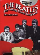 Beatles - Play Along Chord Songbook - The Later Years + Cd