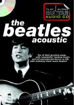 Play Along Guitar Audio Cd : The Beatles Acoustic - Guitare Tab