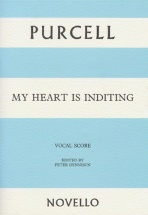 Purcell - My Heart Is Inditing - Vocal Score