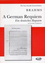 Brahms J. - German Requiem (engl./germ.) - Vocal Score
