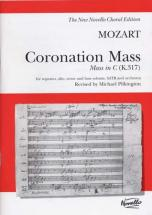 Mozart W.a. - Coronation Mass In C (k.317) - Vocal Score
