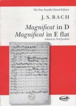 Bach J.s. - Magnificat In D & E Flat - Vocal Score