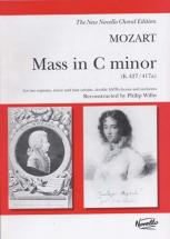 Mozart W.a. - Mass In C Minor (k.427 / 417a) - Vocal Score