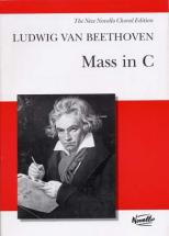 Beethoven L.van - Mass In C - Vocal Score