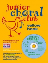 Junior Choral Club - Bk. 5 - Yellow - Voice And Piano