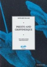 Elgar Edward - Presto And Griffinesque - Piano