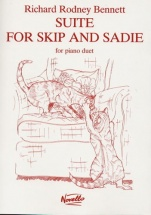 Richard Rodney Bennett  Suite For Skip And Sadie For Piano Duet - Piano Duet