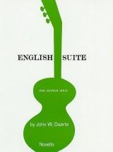 John W. Duarte - English Suite - Guitar
