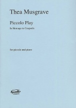 Piccolo Play In Homage To Couperin - Piccolo