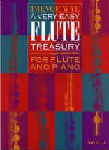 Wye Trevor - A Very Easy Flute Treasury - Flute, Piano