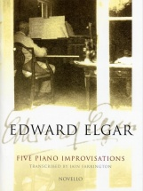 Edward Elgar - Five Piano Improvisations - Piano Solo