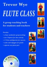 Wye Trevor - Flute Class [with 2 Cds] - Flute