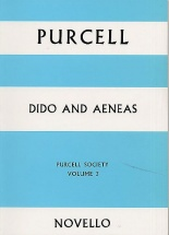 Dido And Aeneas - Purcell Society Volume 3 - Choral