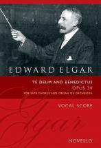 Elgar Edward - Te Deum & Benedictus Op.34 - Choeur Et Orgue
