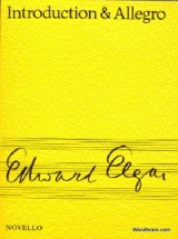Elgar Edward - Introduction & Allegro - Score