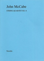 Mccabe John - String Quartet No. 4 - Score