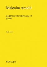 Malcolm Arnold - Guitar Concerto Opus 67 - Study Score - Flute