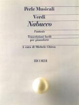 Verdi G. - Nabucco. Fantasia - Piano