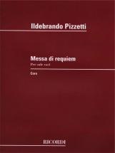 Pizzetti I. - Messa Di Requiem - Sole Voci
