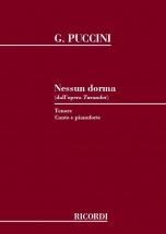 Puccini G. - Nessun Dorma - Chant Et Piano