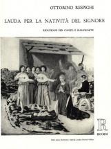 Respighi O. - Lauda Per La Nativita Del Signore - Chant Et Piano