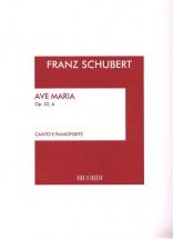 Schubert F. - Ave Maria Op.52 N.6 D.839 - Chant Et Piano