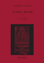 Vivaldi A. - Stabat Mater Rv 621 - Chant Et Piano