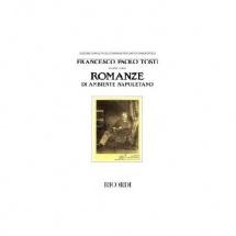 Tosti F.p. - Romanze Di Ambiente Napoletano - Chant Et Piano