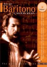 Cantolopera: Arie Per Baritono + Cd - Chant Et Piano