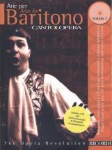 Cantolopera: Arie Per Baritono, Vol. 2 + Cd - Chant Et Piano
